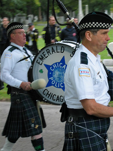 Pipes and Drums, Emerald Society of the Chicago Police Department