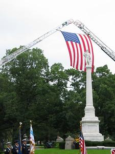 Firefighter's memorial