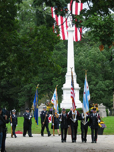 CFD Color Guard and AFFI Honor Guard
