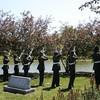 Firing squad: Lane Tech High School ROTC