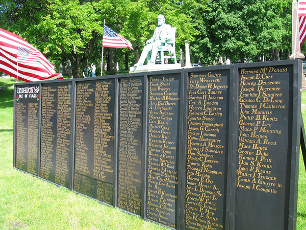 In Memory Of - Avenue of the Flags