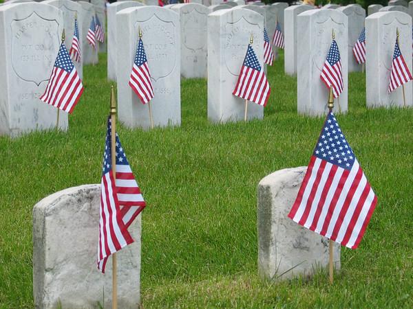 Civil war memorials