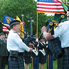 Emerald Society Bagpipers