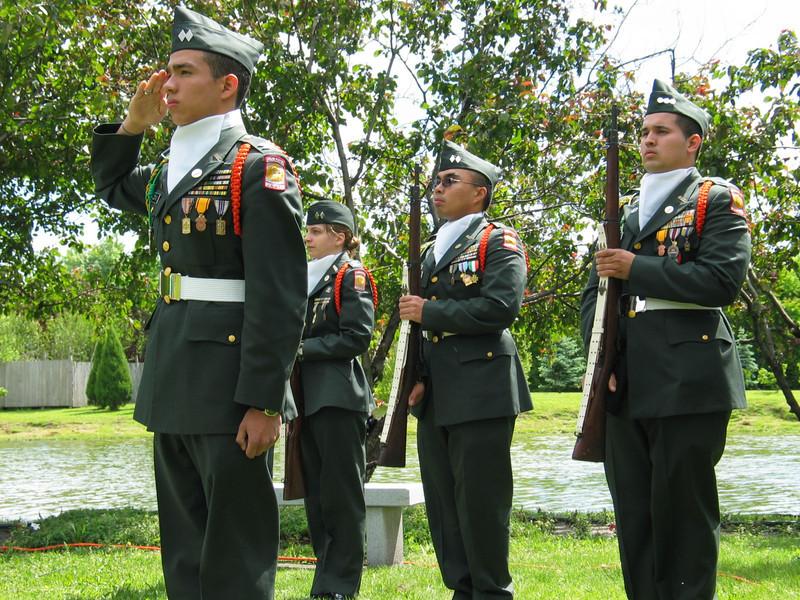 Lane Tech High School ROTC Firing Squad