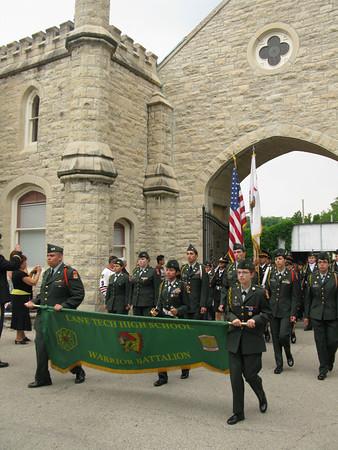 Lane Tech High School - Warrior Battalion