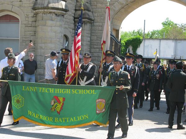 Lane Tech - Warrior Battalion
