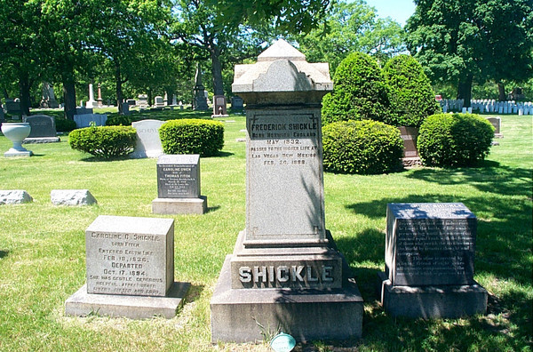 The Shickles' Monuments