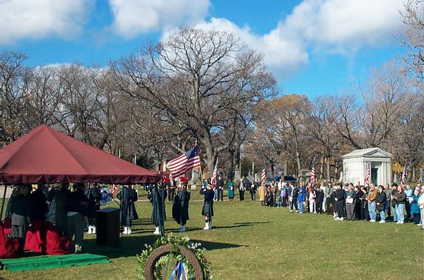 Veterans Day, November 11th 2001