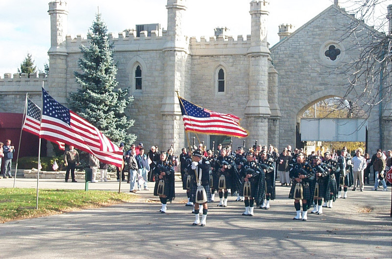 The Emerald Society Bagpipes and Drums