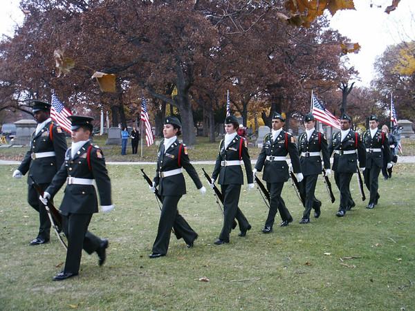 Lane Tech ROTC
