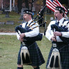The Emerald Society Bagpipers