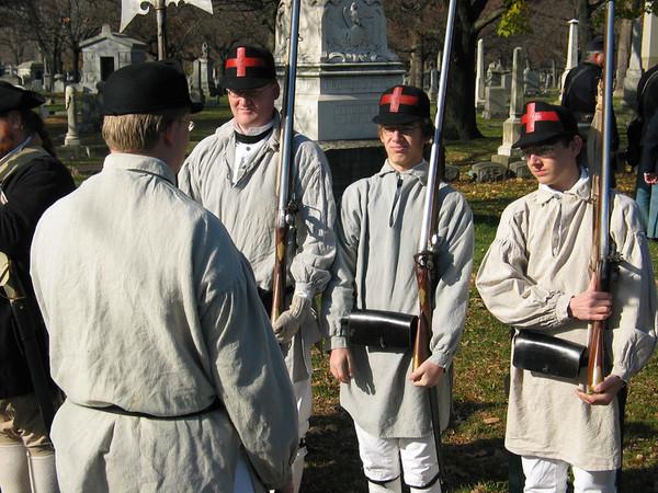 Redcoat re-enactors