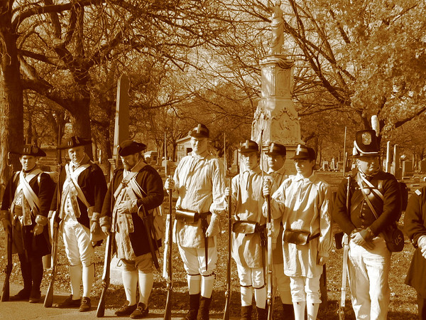 Revolutionary War, Redcoats and War of 1812
