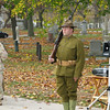 World War I Re-enactor