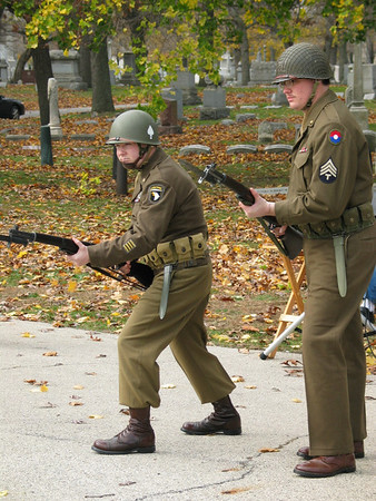 World War II Re-enactors