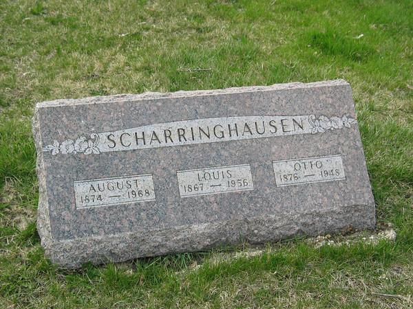 Scharringhausen. August, Louis, Otto