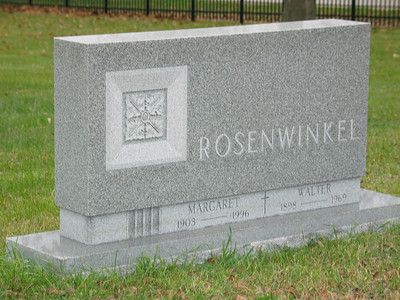 Margaret & Walter Rosenwinkel