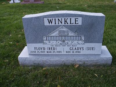 Floyd Red Winkle and Gladys Sue Winkle