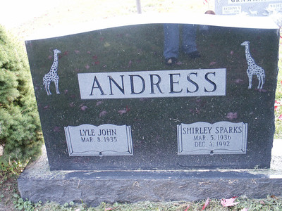 Shirley Sparks Andress