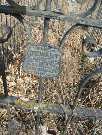 Metal fencing (closeup)