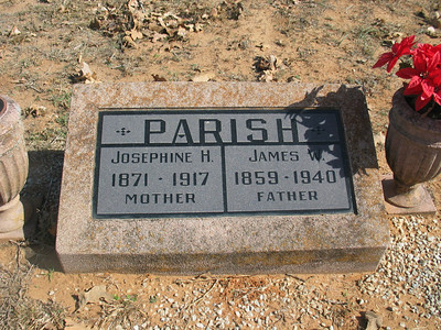Josephine H. & James W. Parish