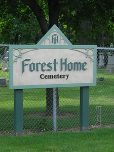 Forest Home Cemetery Entrance