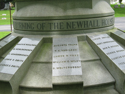 In memory of the burning of the Newhall house