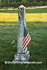 Veteran Grave at Dayton Corners Cemetery, Richland County, Wisconsin