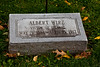 Albert Wirz, Victim of Titanic, Oakwood Cemetery, Beloit, Wisconsin