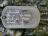 Dog tags of a Marine, on the Boot Tree, last name Feiler - 2