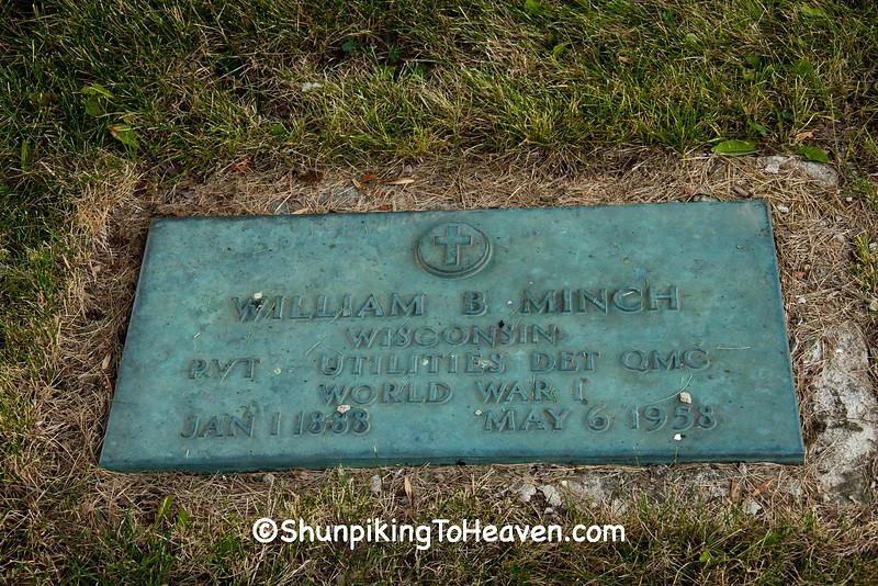 World War I Veteran, Prairie Mound Cemetery, Oregon, Wisconsin