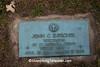 WW I Veteran's Gravestone,