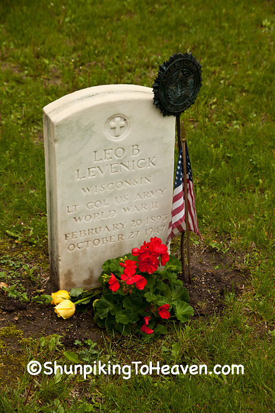 World War II Veteran, Forest Hill Cemetery, Madison, Wisconsin