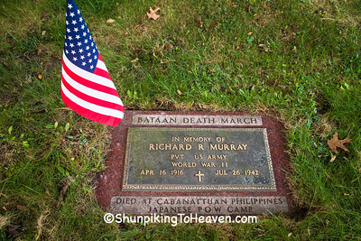 Grave of Richard R. Murray, St. Mary's Cemetery, Juneau County, Wisconsin