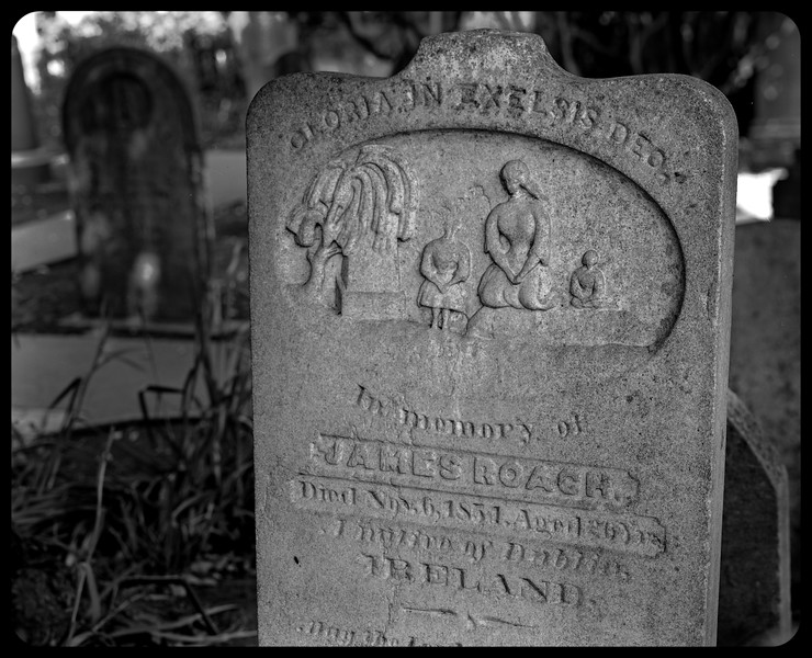 Headstone, Mission Dolores Burial Ground