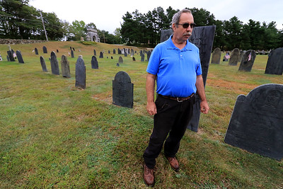 Cemetery Superintendent Alan Mayo, September 20, 2018