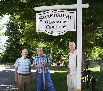 Cemetery gets new signs. 061918