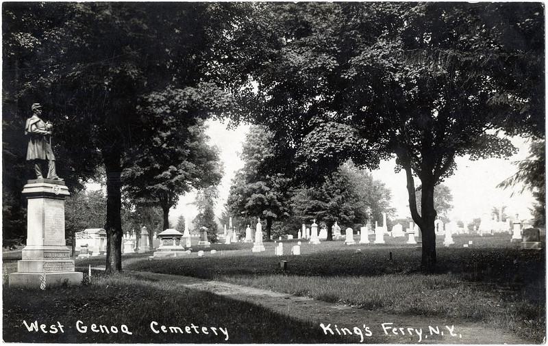 West Genoa Cemetery, King Ferry, NY. (Photo ID: 34489)