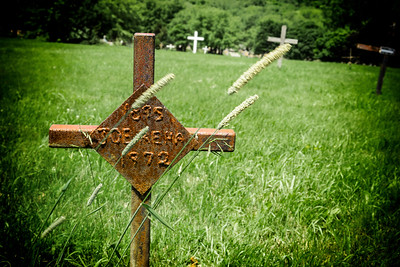 Rusted cross