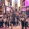 Cena Urbana em Times Square