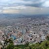 Vista Geral de Bogotá