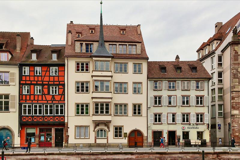 Cena Urbana em Estrasburgo