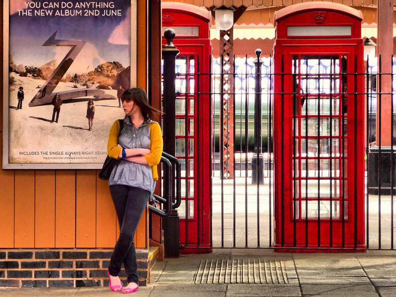 Estação de Trem em Birmingham