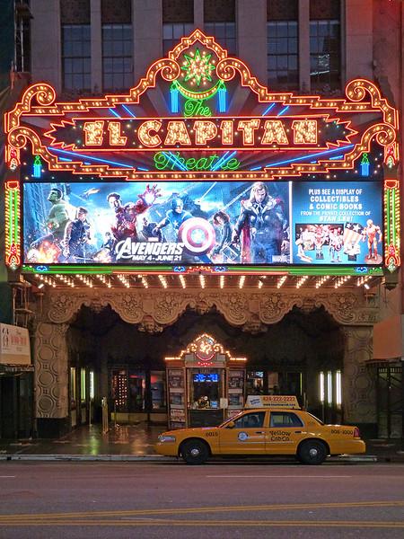 Cinema em Hollywood Boulevard