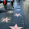 Calçada da Fama em Hollywood Boulevard