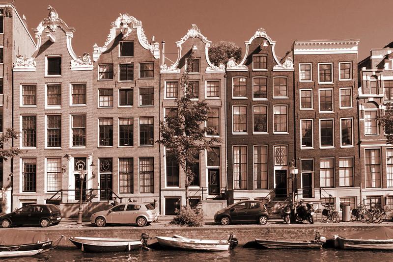 Detalhes Arquitetônicos de Amsterdam
