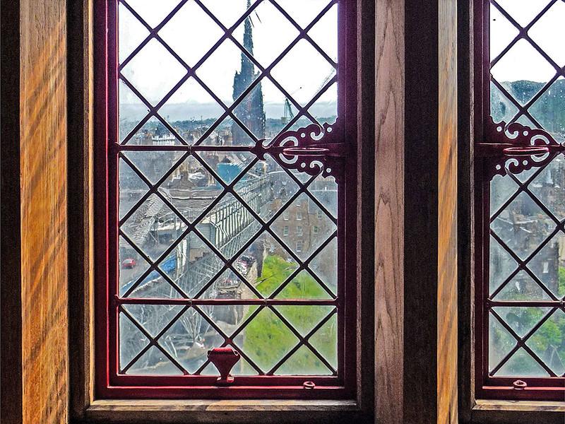 Interior do Castelo de Edinburg