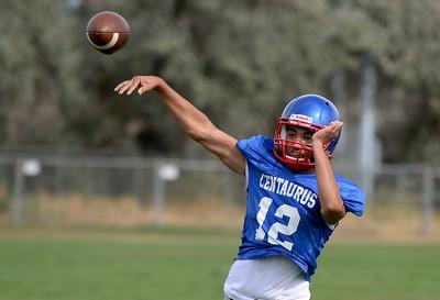 Centaurus Football Practice 8/24