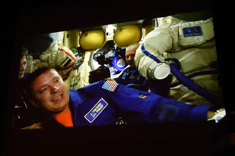 Centaurus Astronaut Arrives at Space Station