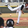 Silver Creek starter Jack Carlough delivers a pitch against Centaurus on Thursday, March 22, at Silver Creek High School.